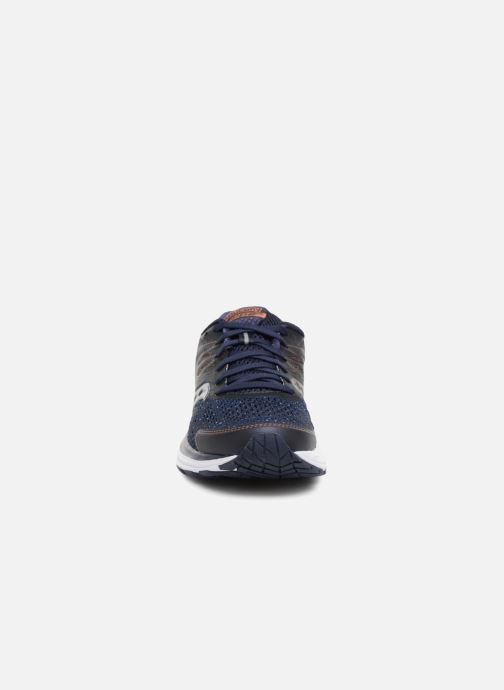 Chaussures de sport Saucony Ride 10 W Bleu vue portées chaussures