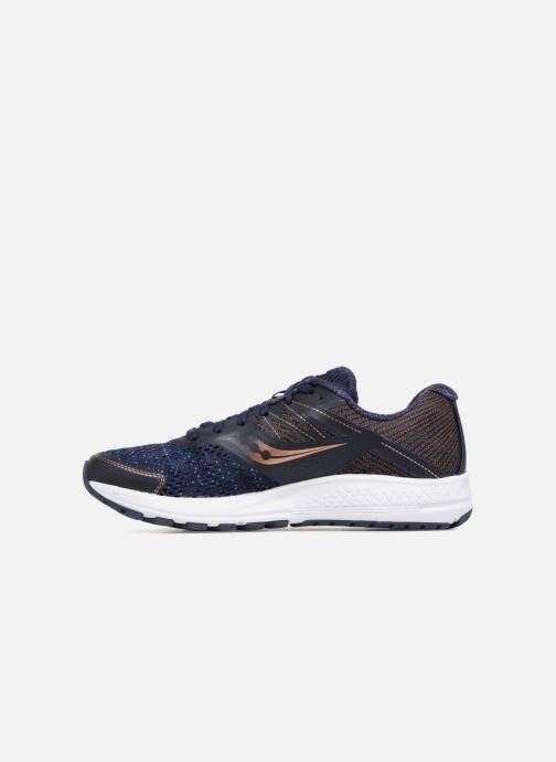Chaussures de sport Saucony Ride 10 W Bleu vue face