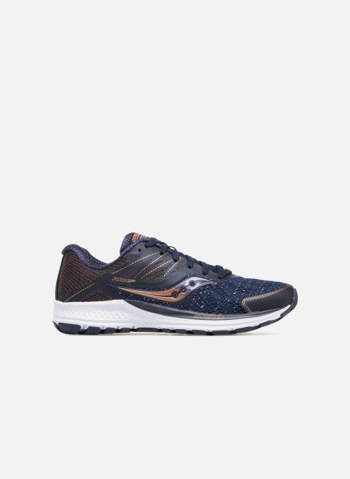 Chaussures de sport Saucony Ride 10 W Bleu vue derrière