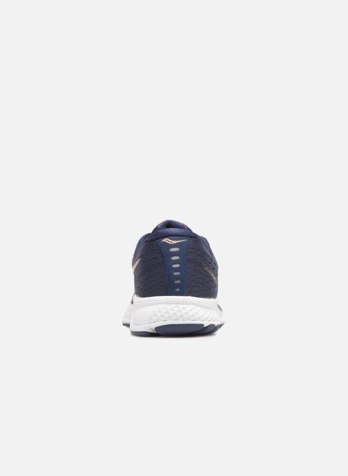 Zapatillas de deporte Saucony Jazz 20 Azul vista lateral derecha