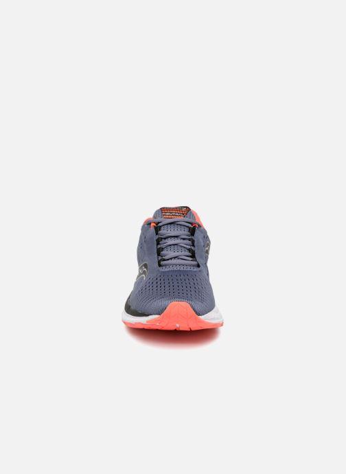 Chaussures de sport Saucony Jazz 20 Bleu vue portées chaussures