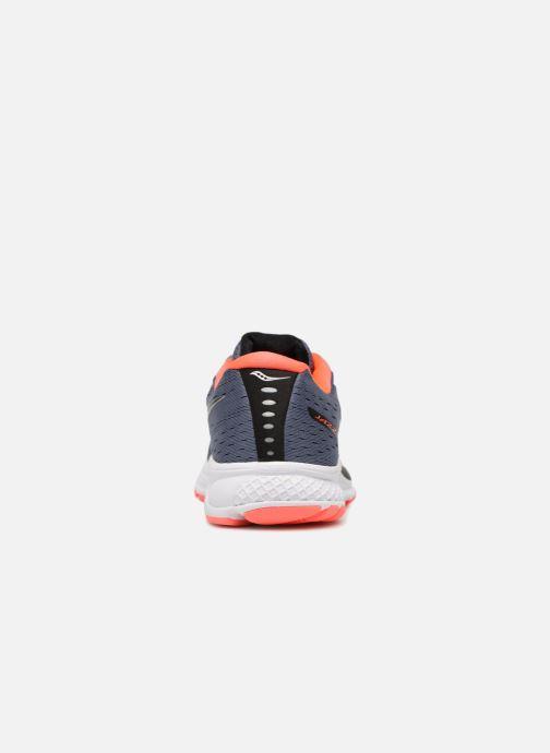Chaussures de sport Saucony Jazz 20 Bleu vue droite
