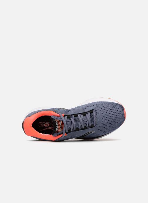 Chaussures de sport Saucony Jazz 20 Bleu vue gauche