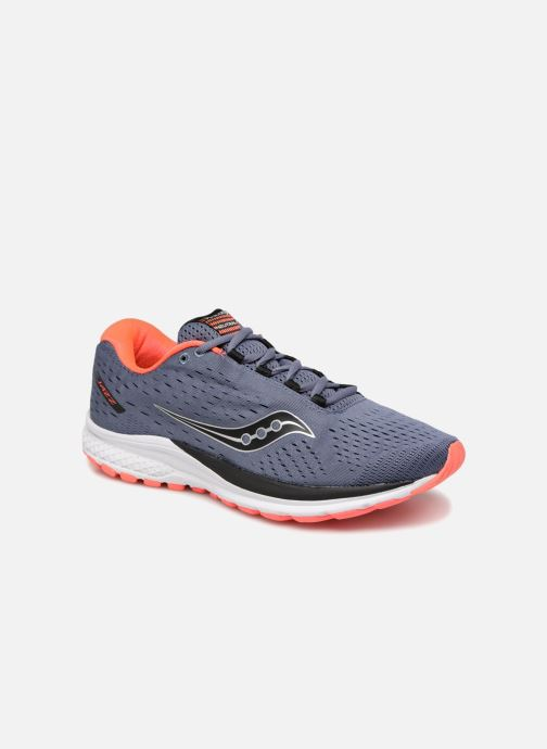 Chaussures de sport Saucony Jazz 20 Bleu vue détail/paire