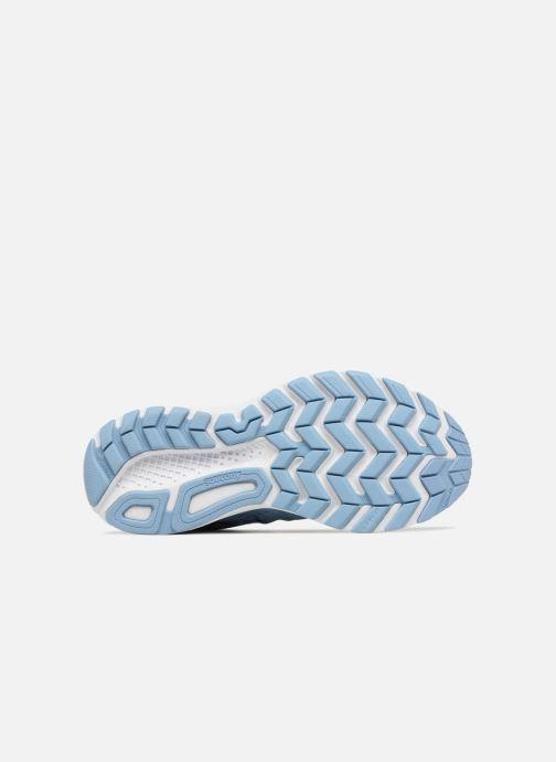 Sportschuhe Saucony Jazz 20 W blau ansicht von oben