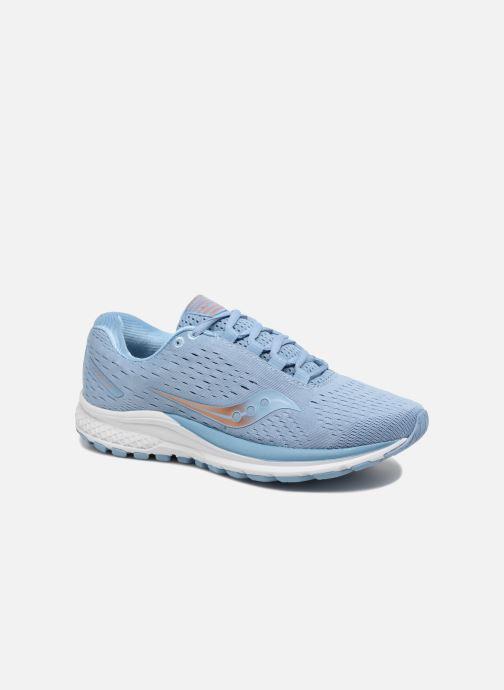Sportssko Saucony Jazz 20 W Blå detaljeret billede af skoene
