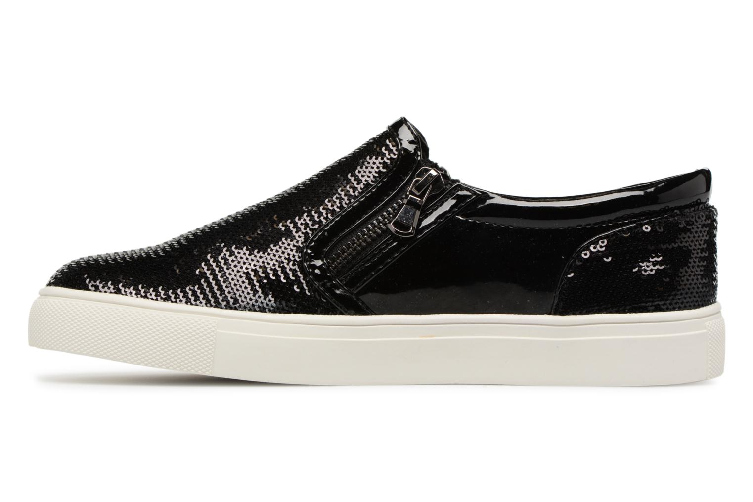Baskets Steve Madden Paddock Slip-on Noir vue face