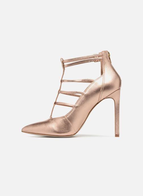 High heels Steve Madden Prazed Pump Bronze and Gold front view