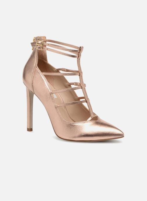 Escarpins Steve Madden Prazed Pump Or et bronze vue détail/paire