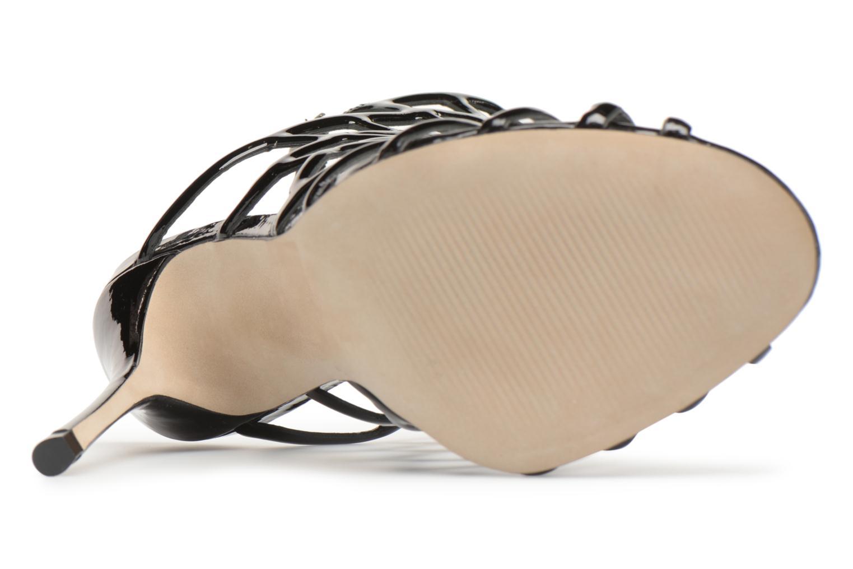 Sandales et nu-pieds Steve Madden Slithur Sandal Noir vue haut