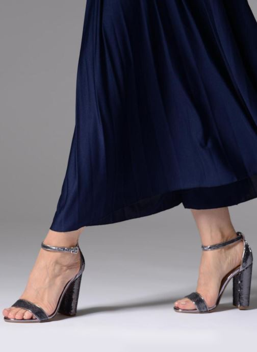 Sandales et nu-pieds Steve Madden Carrson-S sandal Argent vue bas / vue portée sac