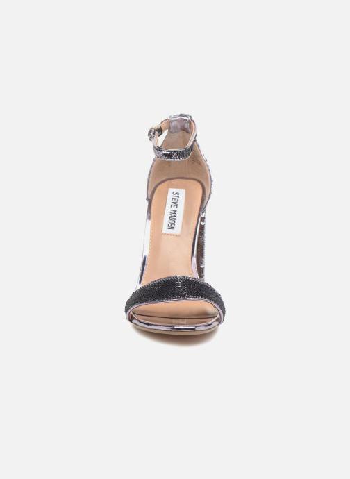 Sandales et nu-pieds Steve Madden Carrson-S sandal Argent vue portées chaussures