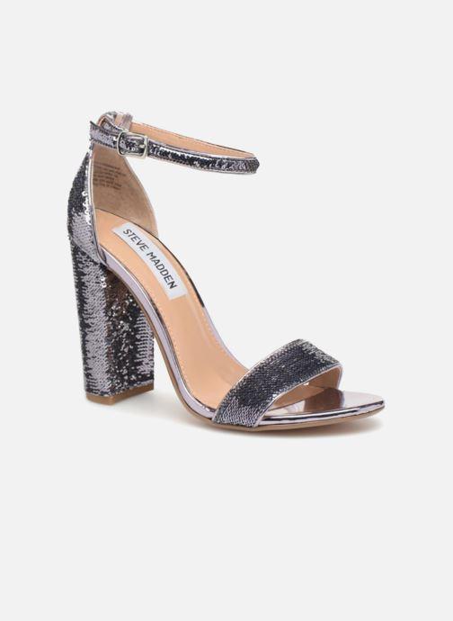 Sandales et nu-pieds Steve Madden Carrson-S sandal Argent vue détail/paire