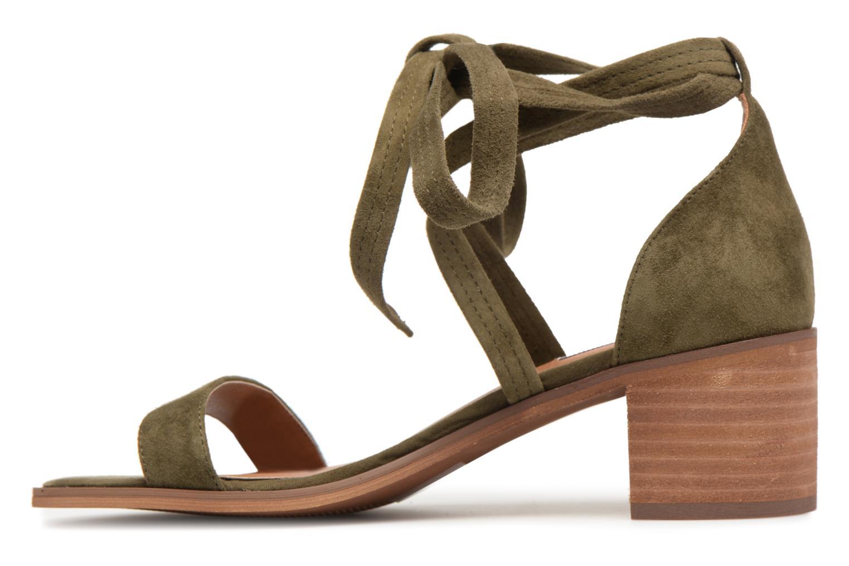 Sandales et nu-pieds Steve Madden Rizzaa Sandal Vert vue face