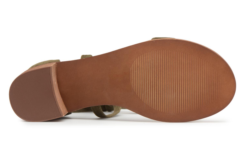 Sandales et nu-pieds Steve Madden Rizzaa Sandal Vert vue haut
