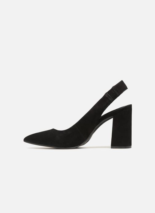 High heels Steve Madden Dove Sandal Black front view