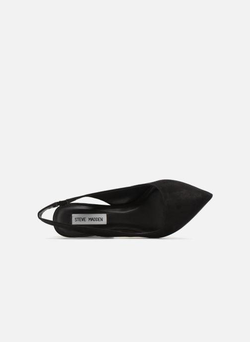 Escarpins Steve Madden Dove Sandal Noir vue gauche