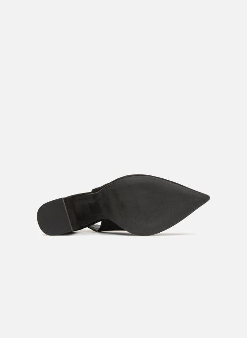 Escarpins Steve Madden Dove Sandal Noir vue haut