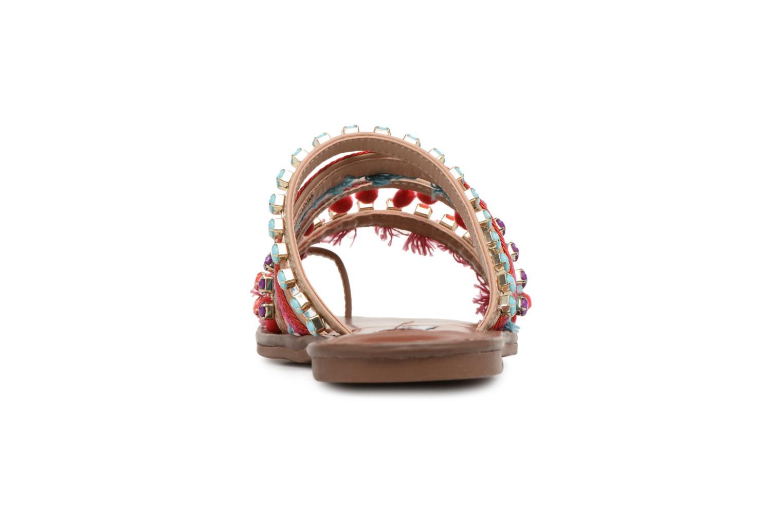 Sandales et nu-pieds Steve Madden Gypsy Slipper Multicolore vue droite