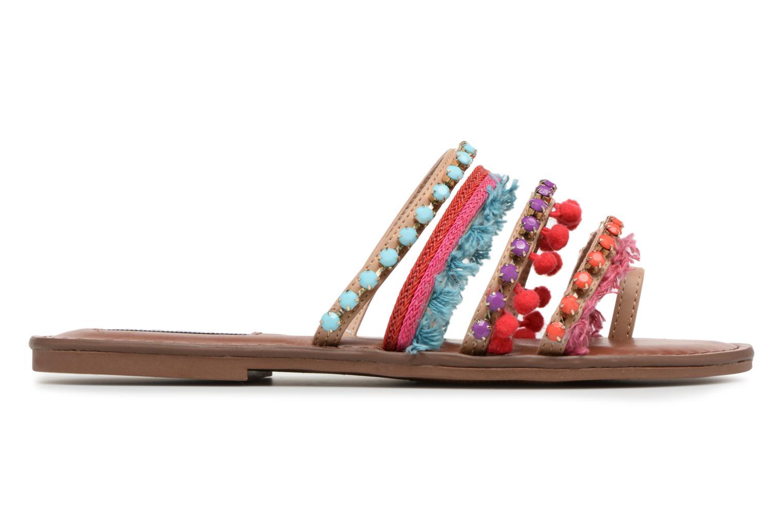 Sandales et nu-pieds Steve Madden Gypsy Slipper Multicolore vue derrière