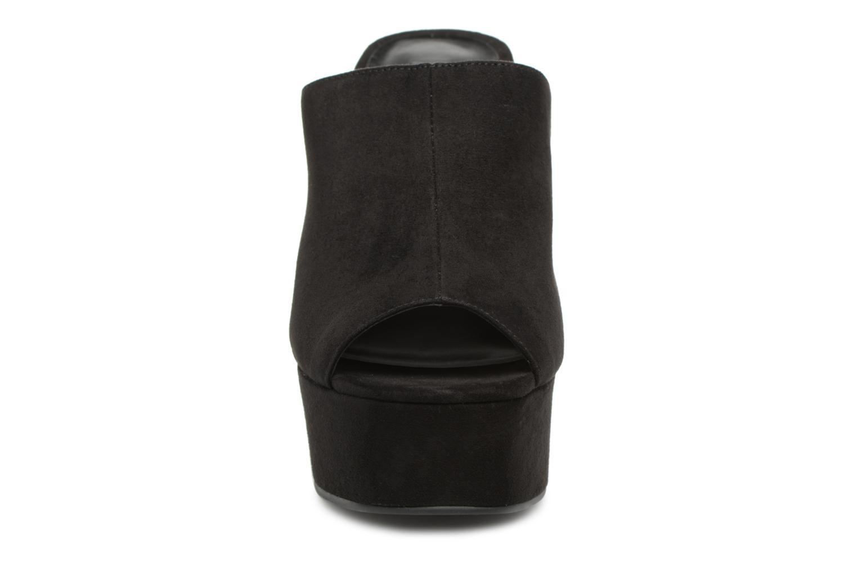 Mules et sabots Steve Madden Seven Sandal Noir vue portées chaussures