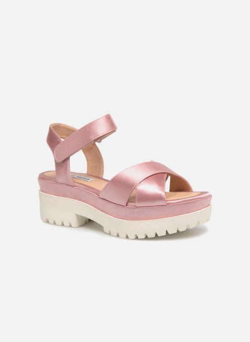 ae1876e5c36 Steve Madden Fine Sandal (Pink) - Sandals chez Sarenza (325753)