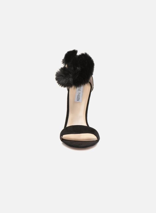 Sandales et nu-pieds Steve Madden Stelah Sandal Noir vue portées chaussures