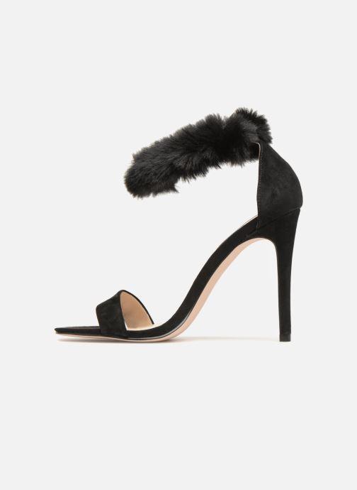 Sandales et nu-pieds Steve Madden Stelah Sandal Noir vue face