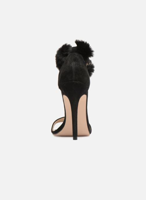 Sandales et nu-pieds Steve Madden Stelah Sandal Noir vue droite