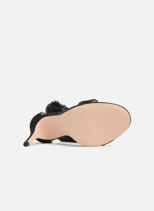 Sandales et nu-pieds Steve Madden Stelah Sandal Noir vue haut