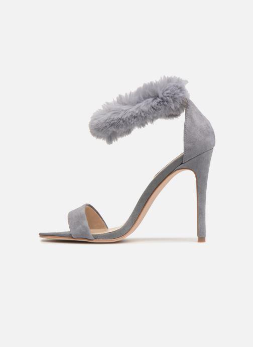 Sandales et nu-pieds Steve Madden Stelah Sandal Gris vue face