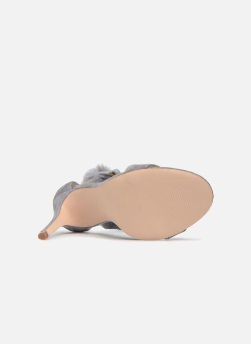 Sandales et nu-pieds Steve Madden Stelah Sandal Gris vue haut