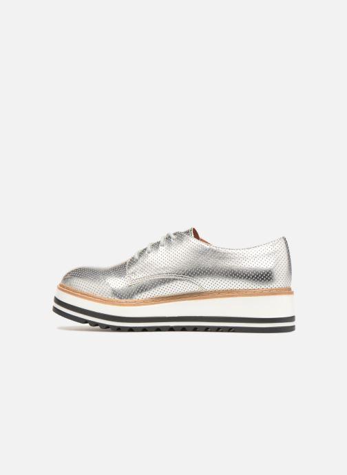 Chaussures à lacets Steve Madden Vassar Lace-up Argent vue face