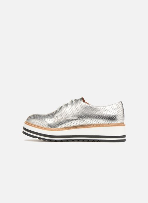 Lace-up shoes Steve Madden Vassar Lace-up Silver front view