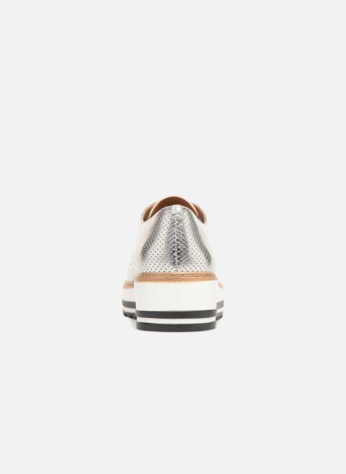 Chaussures à lacets Steve Madden Vassar Lace-up Argent vue droite