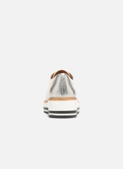 Lace-up shoes Steve Madden Vassar Lace-up Silver view from the right