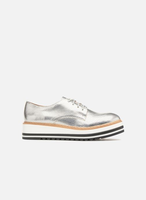 Lace-up shoes Steve Madden Vassar Lace-up Silver back view