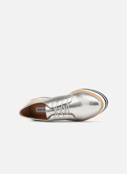 Lace-up shoes Steve Madden Vassar Lace-up Silver view from the left