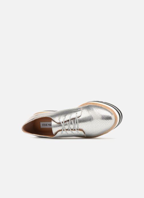 Chaussures à lacets Steve Madden Vassar Lace-up Argent vue gauche