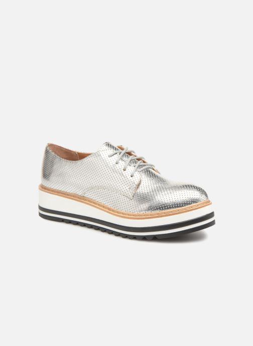 Snøresko Steve Madden Vassar Lace-up Sølv detaljeret billede af skoene