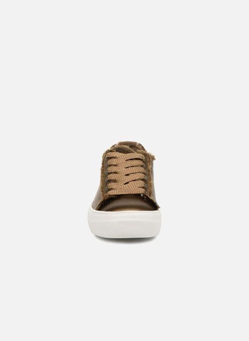 Baskets Steve Madden Greyla Sneaker Vert vue portées chaussures