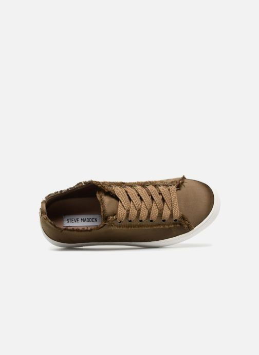 Trainers Steve Madden Greyla Sneaker Green view from the left
