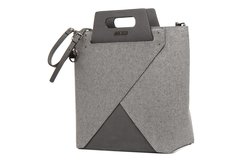 Handtaschen Steve Madden Bbelie grau schuhe getragen