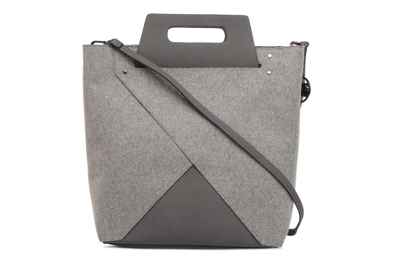 Handtaschen Steve Madden Bbelie grau ansicht von vorne