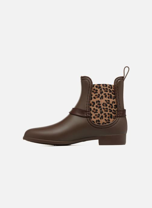 Bottines et boots Be Only Ocelot Mat Marron vue face