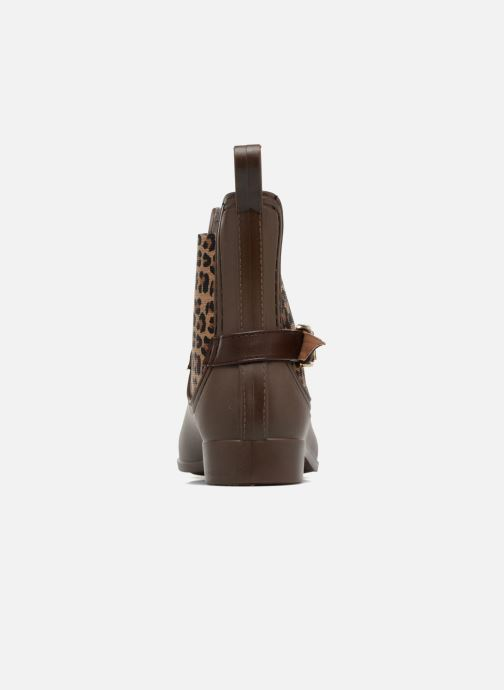Ankle boots Be Only Ocelot Mat Brown view from the right