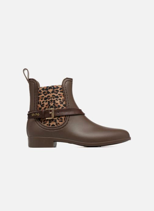 Ankle boots Be Only Ocelot Mat Brown back view