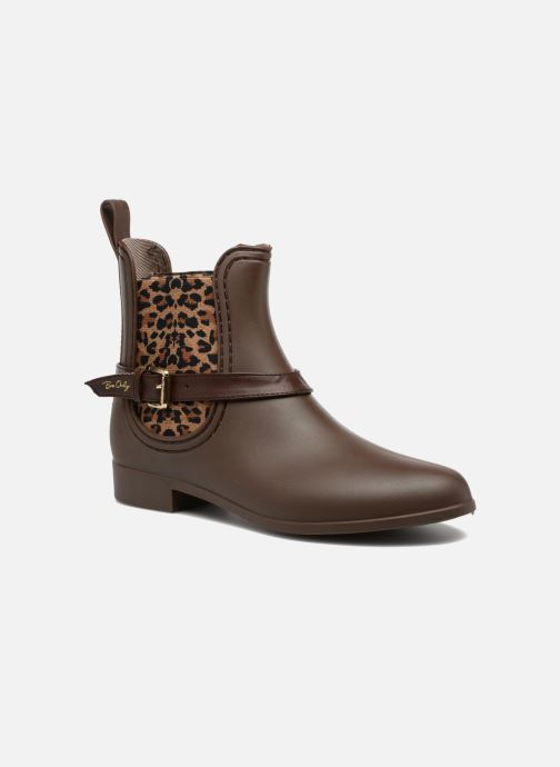 Ankle boots Be Only Ocelot Mat Brown detailed view/ Pair view