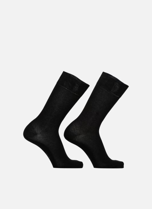 Sokken en panty's Burlington E. day SO 2P Zwart detail