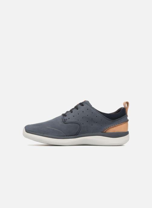 Sneakers Clarks Garratt Lace Blauw voorkant